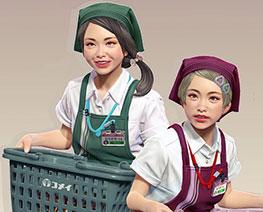 FG11554 1/12 JK Shop Assistant