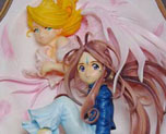 FG1110  Belldandy and HolyBell 3D Frame