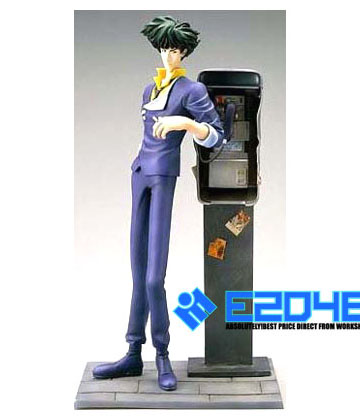 Spike Spiegel with Phone Booth