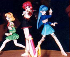 FG0399  Magical Knight Main Characters Set