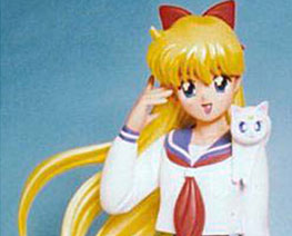 FG1175 1/8 Minako with Cute Artemis
