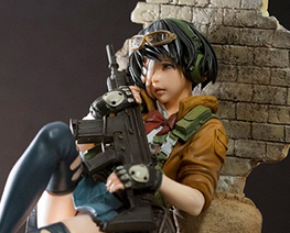 FG9862 1/7 War Girl