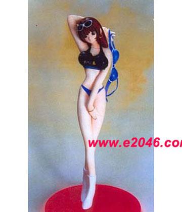 Girl with Piyo Bikini