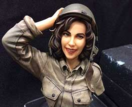 FG10932 1/6 Military Girl Bust