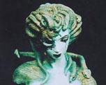 FG0627 1/4 蛇女胸像