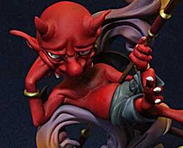 FG9636  Devil & Grimoire