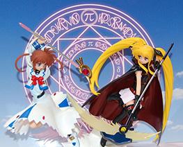 FG4521  Fate Testarossa and Nanoha Takamachi