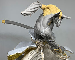 FG12029  Anubis Samurai