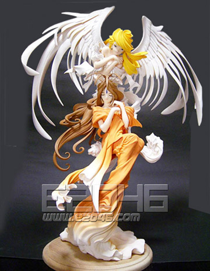 Belldandy with Holy Bell