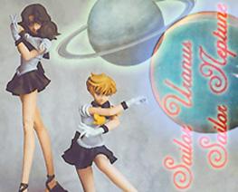 FG3347 1/8 Sailor Uranus & Sailor Neptune