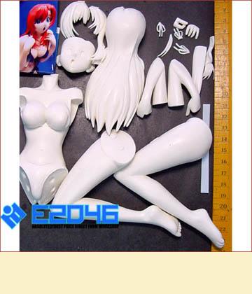 Kazami Mizuho Bikini on Knees