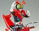 FG0852 1/12 Masked Rider Stronger with Super Motorbike