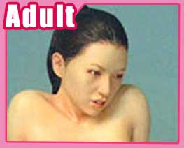 FG1755 1/6 Asian Nude Girl Sitting