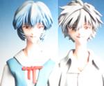 FG6825 1/6  Ayanami Rei & Kaworu Nagisa