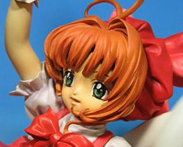 FG1181 1/8 Sakura Kinomoto on Wings Stand