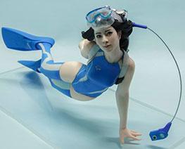 FG11103 1/10 Diver Girl