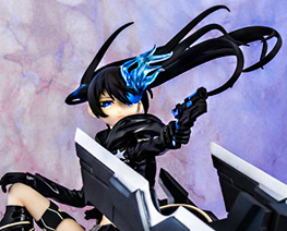 FG12293  Black Rock Shooter with Motorcycle