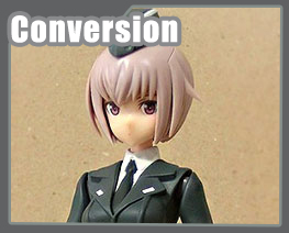FG12401 1/1 Frame Arms Girl Uniform Conversion Kit