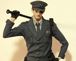 FG10183  Majima Goro Police Version