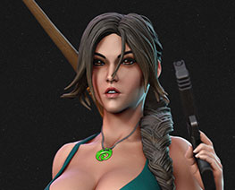 FG12596 1/6 Lara Croft