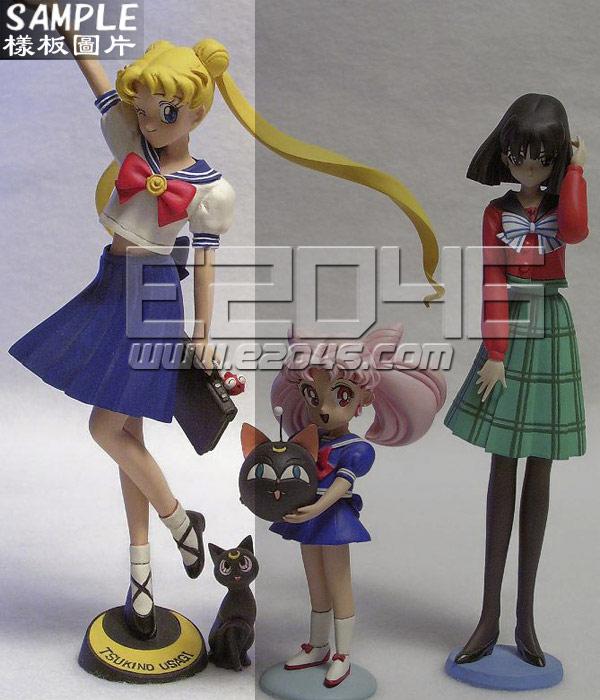 Tsukino Usagi with Luna