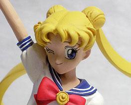 FG0086 1/8 Tsukino Usagi with Luna