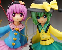 FG6530  Komeiji Satori & Komeiji Koishi