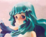 FG1584 1/8 Green Hair Elf
