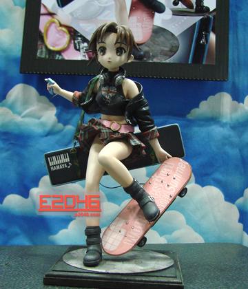 Electric Skate Board Girl
