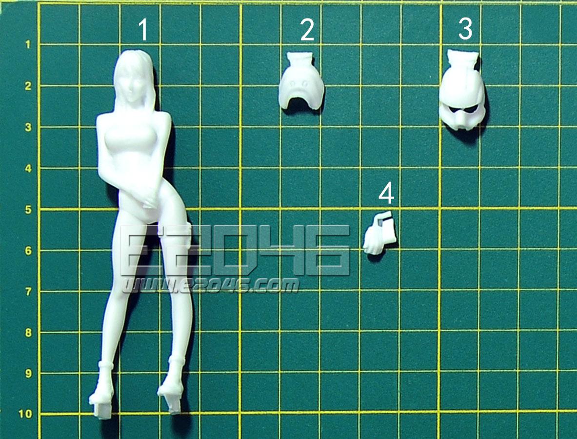 佣兵军女性宇宙机师