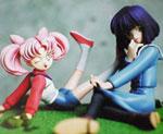 FG6410 1/8 Chibiusa and Hotaru