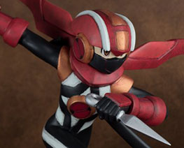 FG10895  Mega Man EXE Shadow style