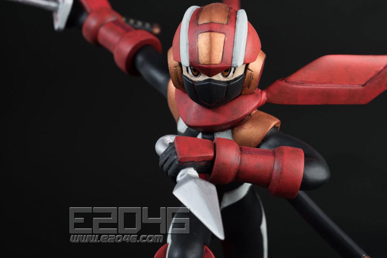 Mega Man EXE Shadow style