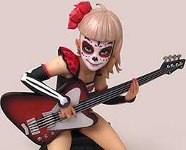 FG11534  Bassist Catrina