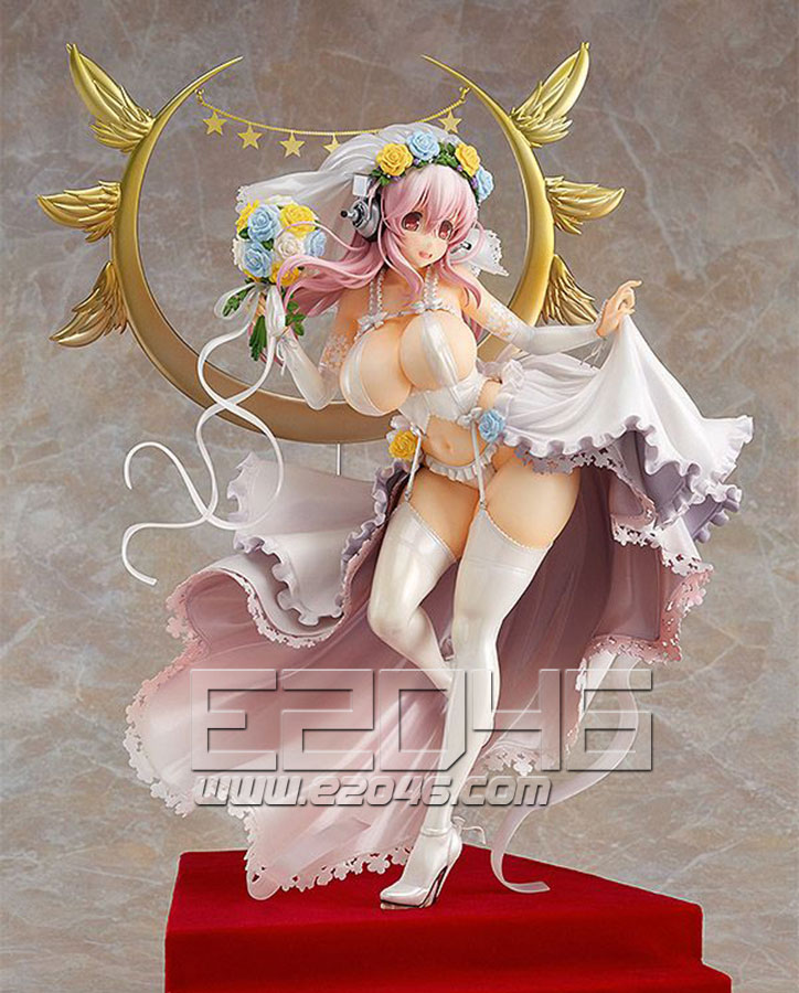 Super Sonico Wedding Version