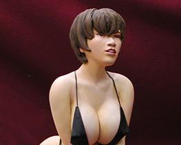 FG2305 1/6 Real Girl in Bikini on Knees