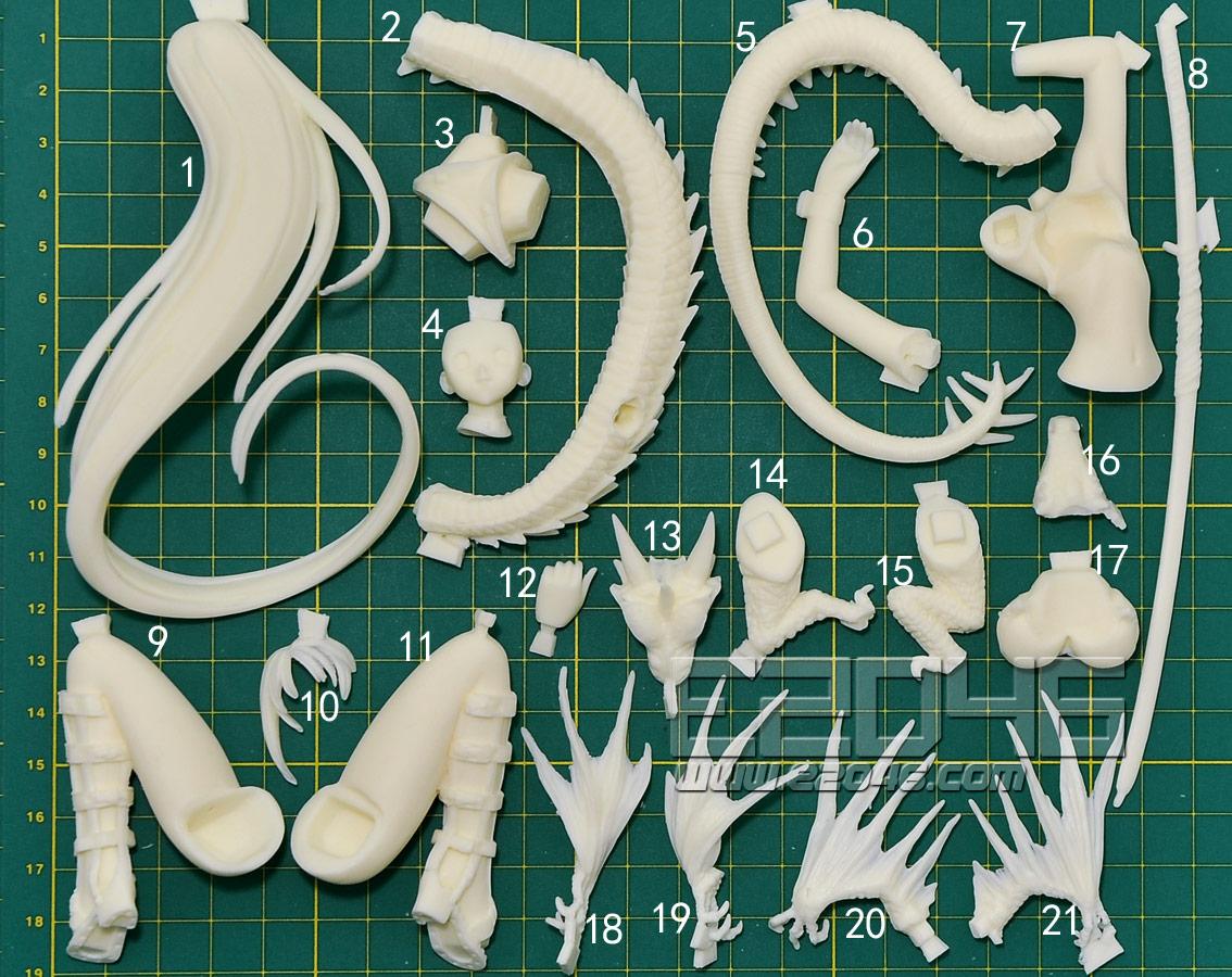 Aya Natsume with Silver Dragon