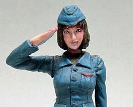 FG9804 1/35 Salute Girl