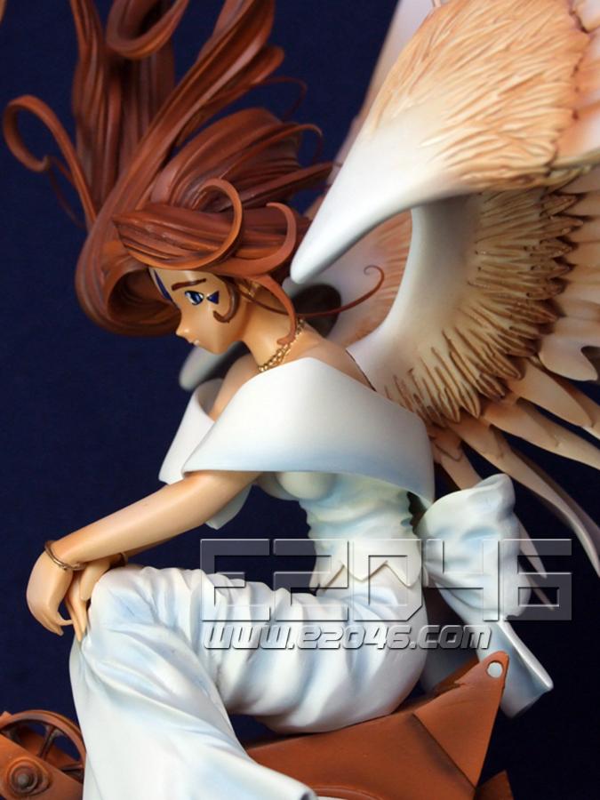 Angel Belldandy Sitting on Crane