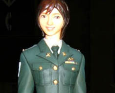 FG2799 1/8 Uniform Lady