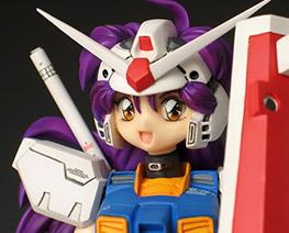 FG0231 1/8 Gundam RX-78 Girl