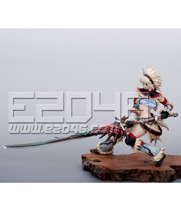 麒麟裝備獵人與飛龍刀