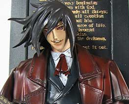 FG1107 1/7 Alucard Surrounding with Books
