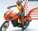 FG0820 1/12 Masked Rider Amazon with Super Motorbike