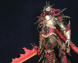 FG8357 1/6 Rathalos Armor Hunter with Dragon Sword