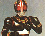 FG0547 1/6 Masked Rider Black