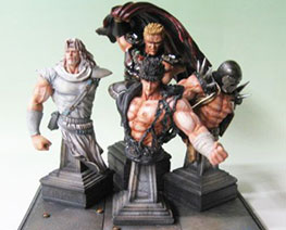FG11363 1/10 Fist of the North Star Bust Set