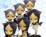 FG6343 SD Cat Girl Set 6P