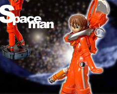 FG3863  Space Suit Girl