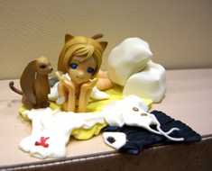 FG3878  Schrodinger`s Catgirl  Crawling